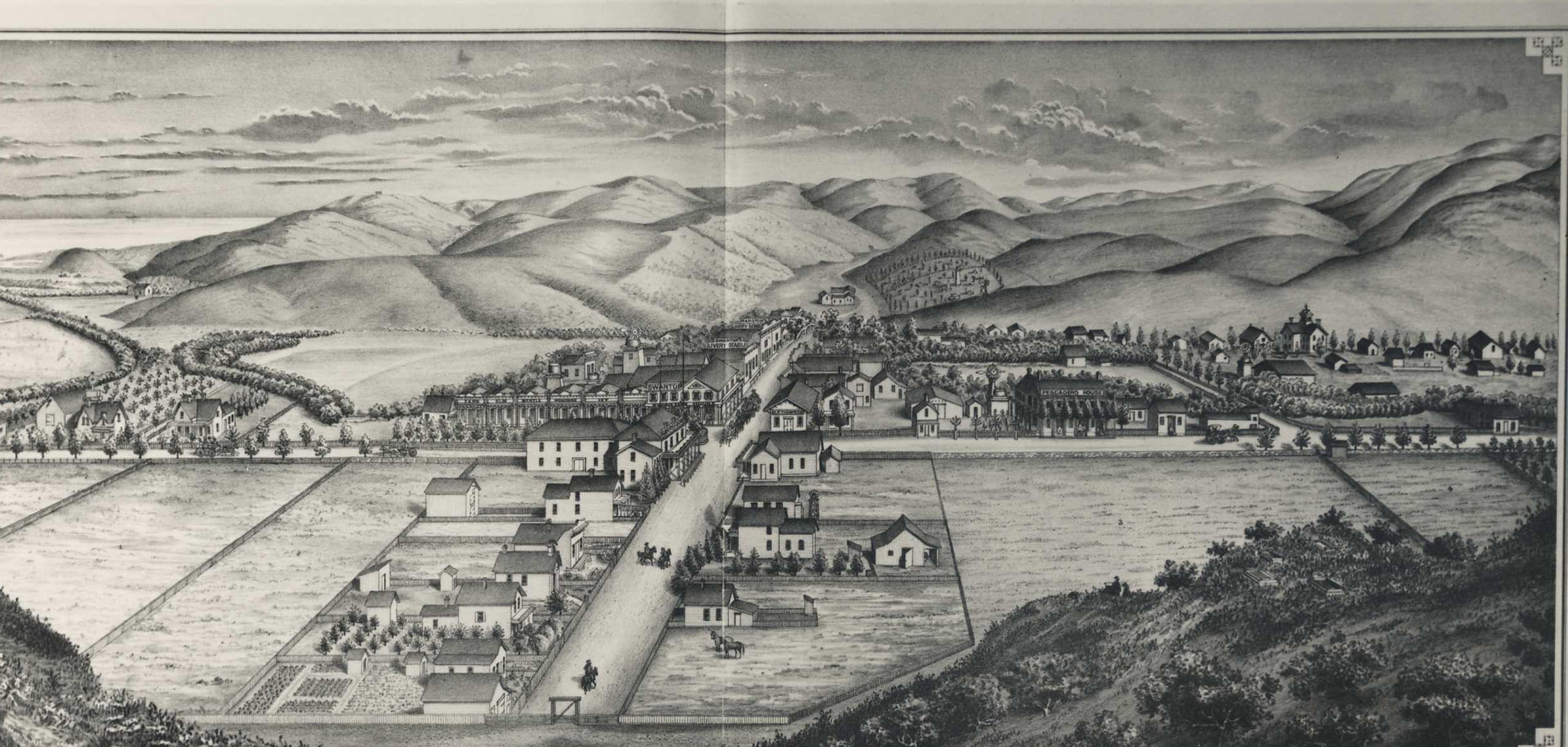 California san mateo county pescadero -  Image From The Illustrated History Of San Mateo County Moore Depue Originally Published In 1872